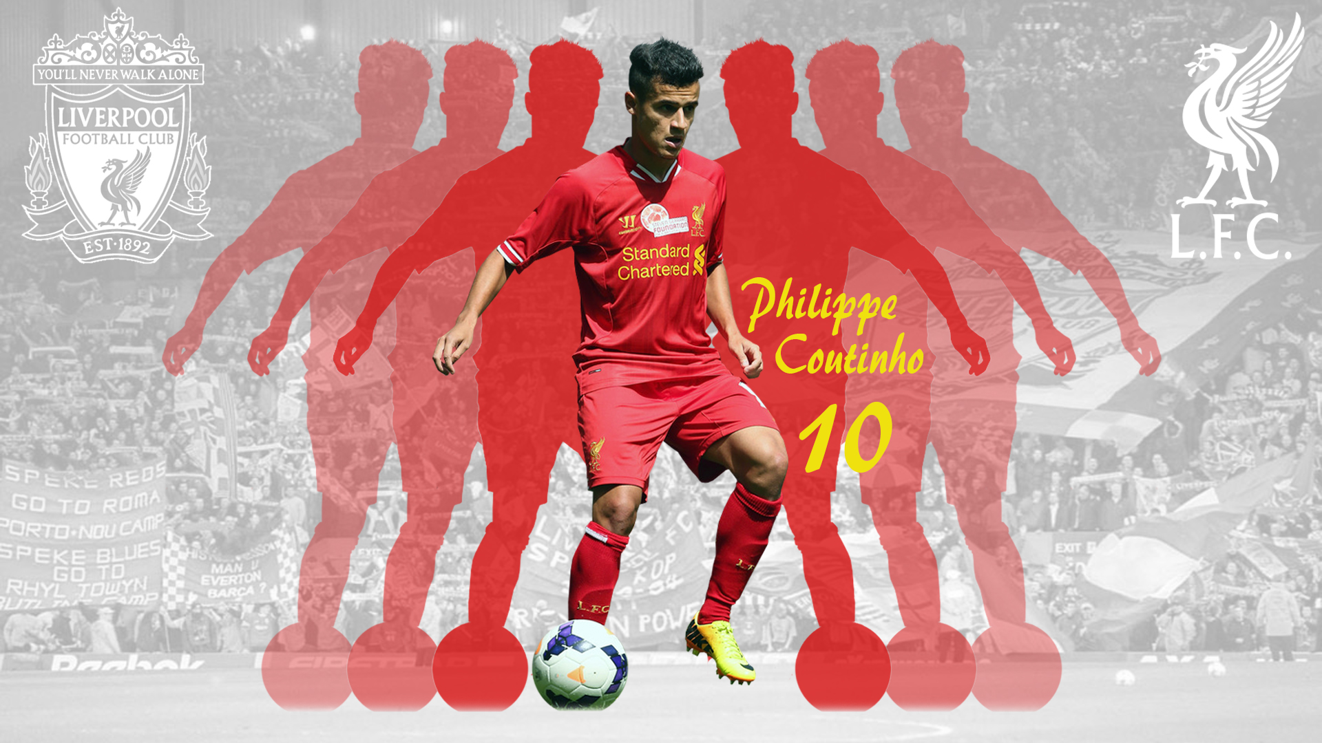 Philippe Coutinho Wallpaper Liverpool